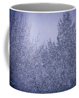 Coffee Mug featuring the photograph Heavy Snow by Mick Anderson