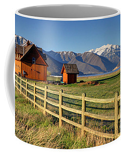 Heber Valley Ranch House - Wasatch Mountains Coffee Mug