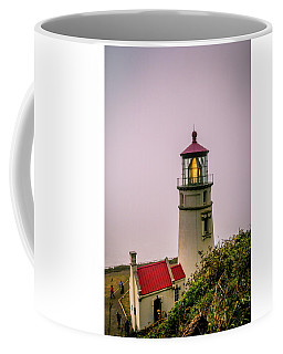 Heceta Head Lighthouse In The Fog Coffee Mug