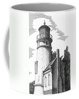 Heceta Head Lighthouse Coffee Mug by Lawrence Tripoli