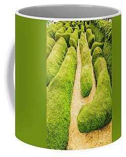 Hedging An Escape Coffee Mug
