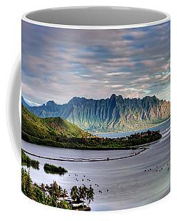 He'eia Fish Pond And Kualoa Coffee Mug