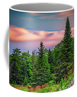 Coffee Mug featuring the photograph Height Of Land by Rick Berk