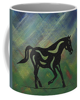 Heinrich - Abstract Horse Coffee Mug