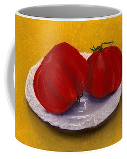 Heirloom Tomatoes Coffee Mug by Anastasiya Malakhova
