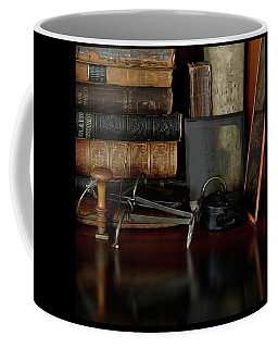 Heirlooms Reflecting Back 2 Coffee Mug by Yvonne Wright