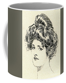 Helen, A Gibson Girl Coffee Mug