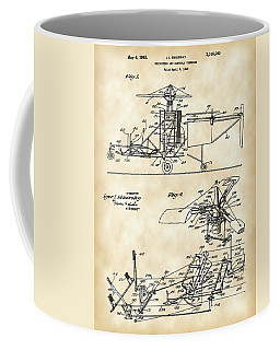 Helicopter Patent 1940 - Vintage Coffee Mug