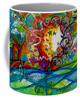 Helios And Ophelia  Coffee Mug by Genevieve Esson
