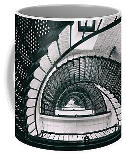 Helix Eye Coffee Mug by Iryna Goodall