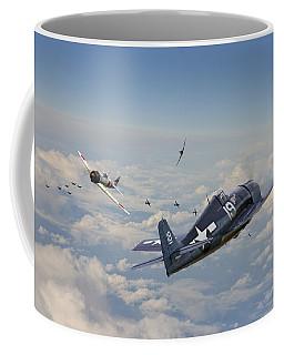 Hellcat F6f - Duel In The Sun Coffee Mug