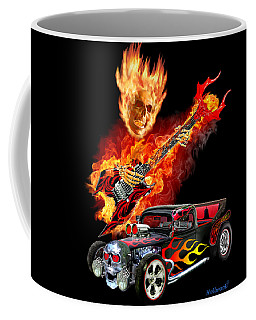 Hellfire Hot Rod Coffee Mug by Glenn Holbrook