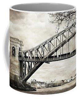 Hellgate Bridge In Sepia Coffee Mug