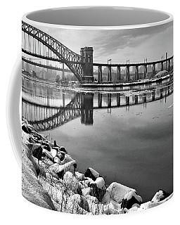Hellgate Half Reflection Coffee Mug