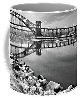 Hellgate Half Reflection Coffee Mug