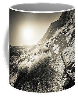 Hellhole Canyon Warning Coffee Mug
