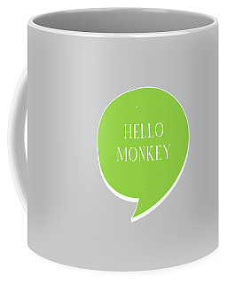 Hello Monkey Coffee Mug