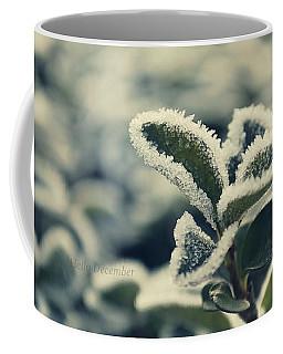 Hello December Coffee Mug by Marija Djedovic