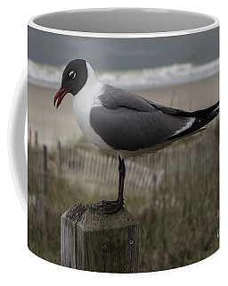 Hello Friend Seagull Coffee Mug