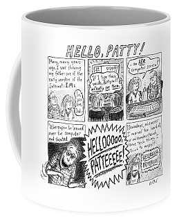 Hello Patty Coffee Mug