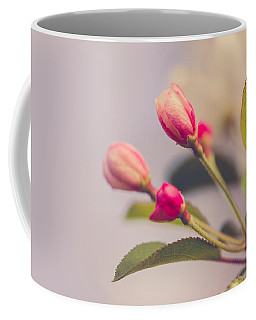 Coffee Mug featuring the photograph Hello Spring by Yvette Van Teeffelen