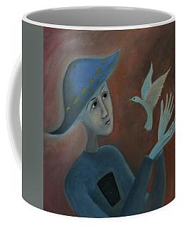 Hello To You Coffee Mug by Tone Aanderaa