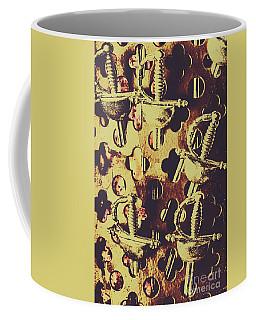 Helm Of Antique War Coffee Mug