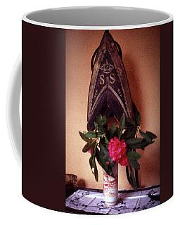 Helmet And Flower Coffee Mug