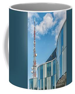 Coffee Mug featuring the photograph Helsingborg Arena Concert Hall by Antony McAulay