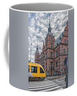 Coffee Mug featuring the photograph Helsingor Train Station by Antony McAulay