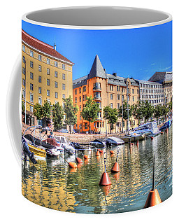 Helsinki Finland Summer Coffee Mug by Yury Bashkin