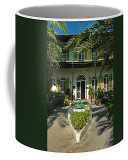 Hemingways House Key West Coffee Mug