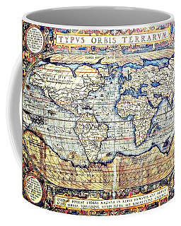 Hemisphere World  Coffee Mug