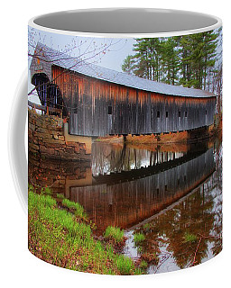 Hemlock Covered Bridge Fryeburg Maine Coffee Mug