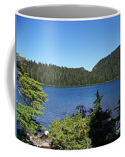 Coffee Mug featuring the photograph Hemlock On The Shore by Charles Robinson