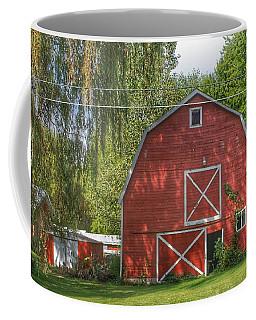 0018 - Henderson Road Red I Coffee Mug