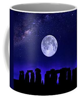 Henge Under The Supermoon Coffee Mug