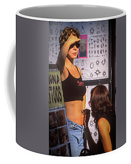 Coffee Mug featuring the photograph Henna Tattoo by Samuel M Purvis III