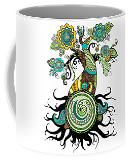 Henna Tree Of Life Coffee Mug