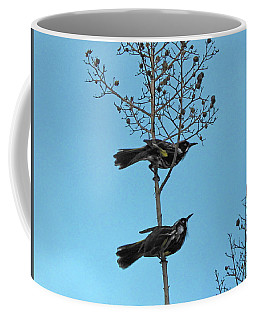Coffee Mug featuring the photograph Henry And Henrietta by Mark Blauhoefer