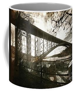 Henry Hudson Bridge, 1936 Coffee Mug by Cole Thompson
