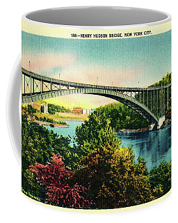 Henry Hudson Bridge Postcard Coffee Mug