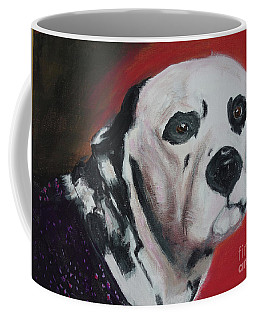 Coffee Mug featuring the painting Henry by Lyric Lucas