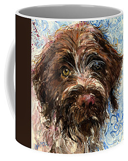 Coffee Mug featuring the painting Henry by Molly Poole