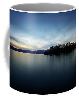 Coffee Mug featuring the photograph Hens And Chickens Islands by Brad Wenskoski