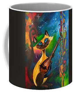 Hepcat Meowndolin Coffee Mug