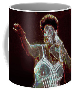 Coffee Mug featuring the digital art Her Majesty by Kenneth Armand Johnson