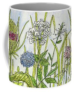 Herbs And Flowers Coffee Mug