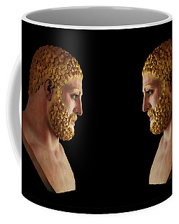 Hercules - Blondes Coffee Mug by Shawn Dall