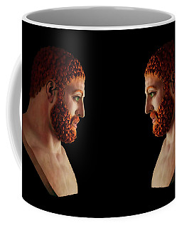 Coffee Mug featuring the mixed media Hercules - Gingers by Shawn Dall